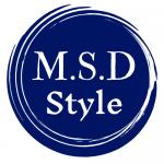 M.S.D style logo